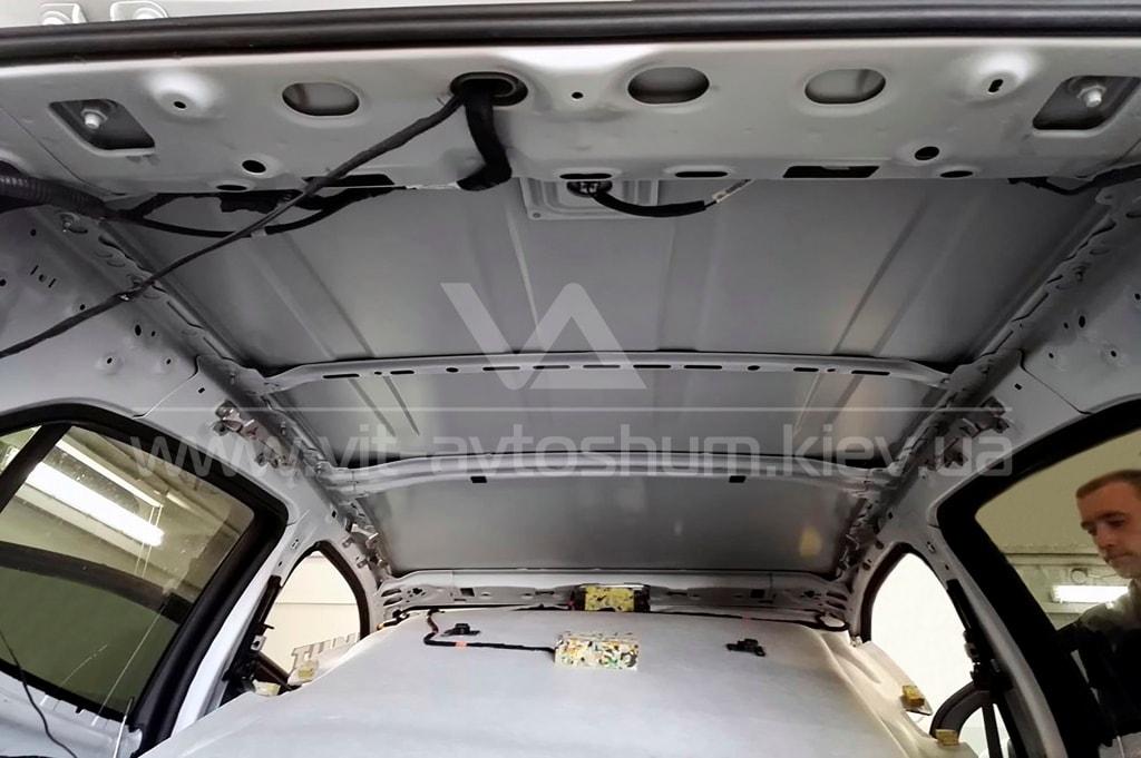 Шумоизоляция крышы Opel Mokka