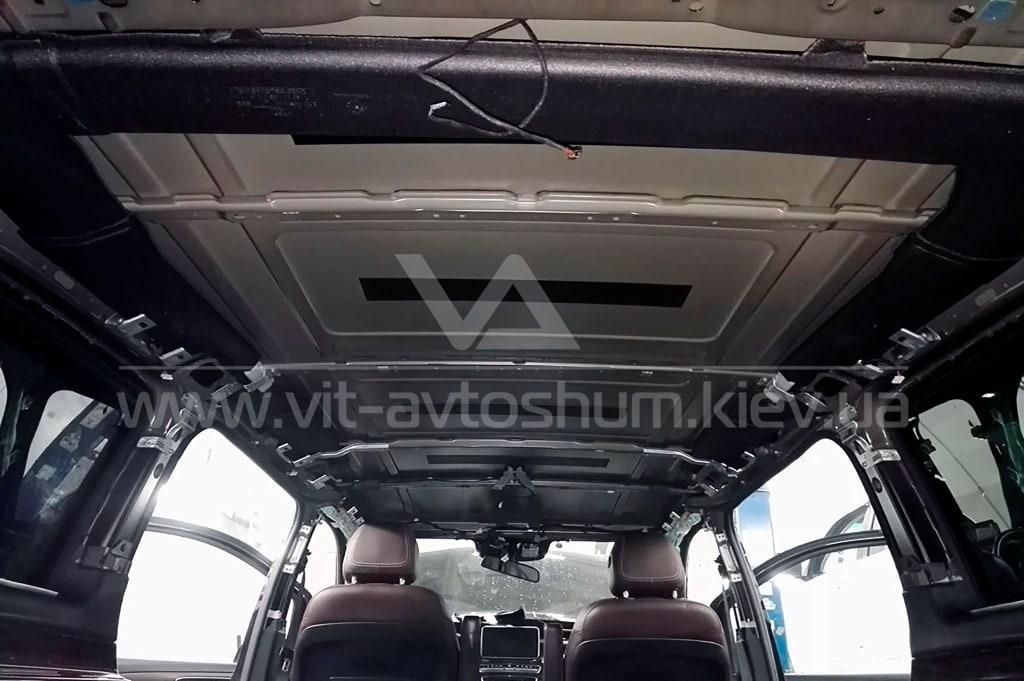 Разборка крыши Mercedes-Benz Vito под шумоизоляция