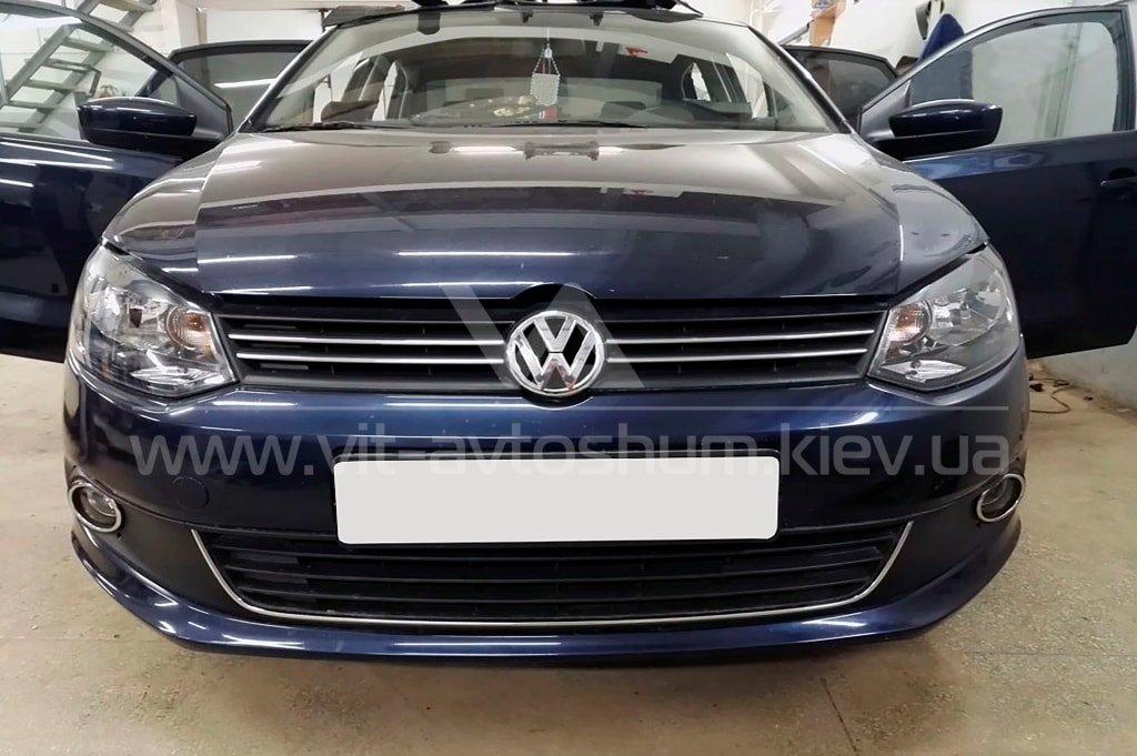 Шумоизоляция Volkswagen Polo Sedan